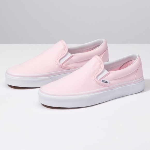 3c1f5f73eb Light pink slip on vans. M 5bcded713c98447fc82f0c8f. Other Shoes ...